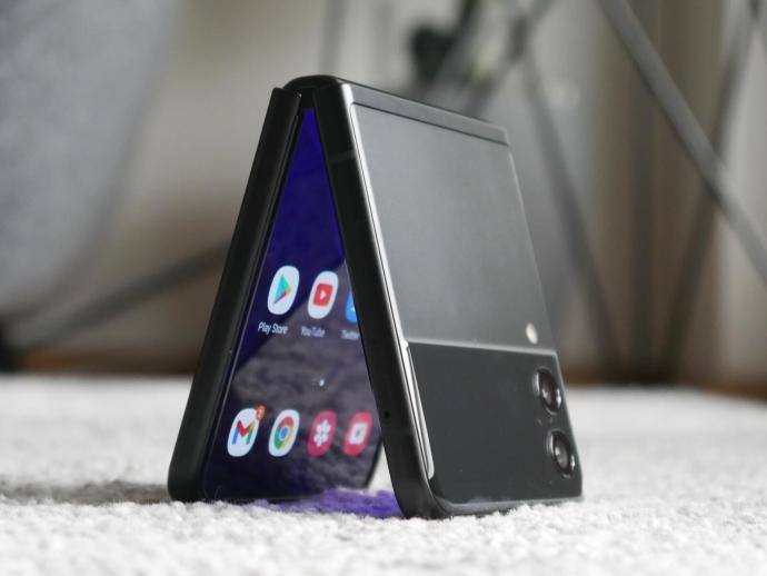 Samsung Galaxy Z Flip 3 Klapp Header