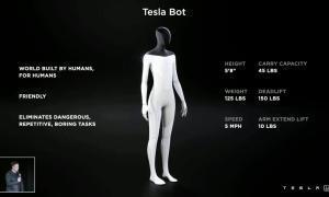 Tesla Bot Specs