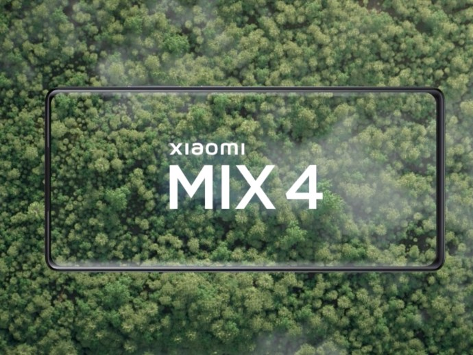 Xiaomi Mi Mix 4 Front