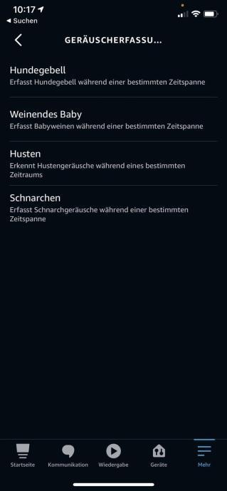 Alexa Geraeusch Erfassung Echo 2