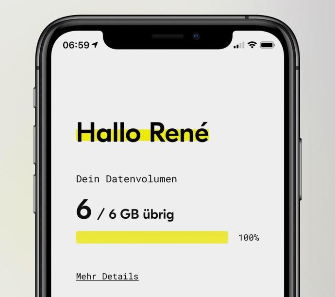 Fraenk App Rene 6gb