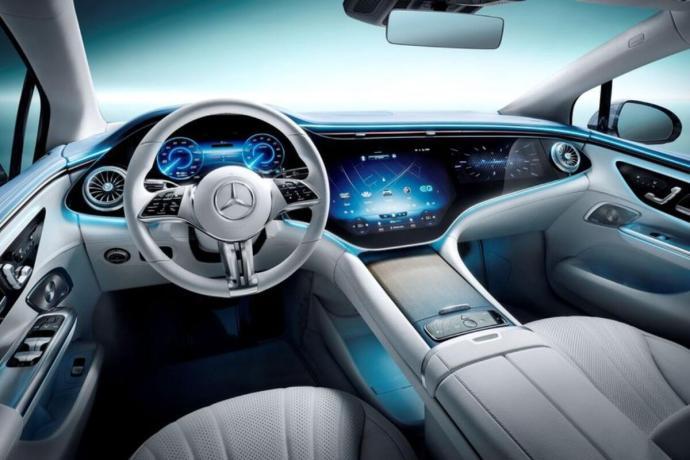 Mercedes Benz Eqe Innenraum