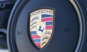 Porsche Logo Header