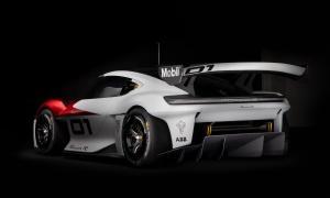 Porsche Mission R Heck