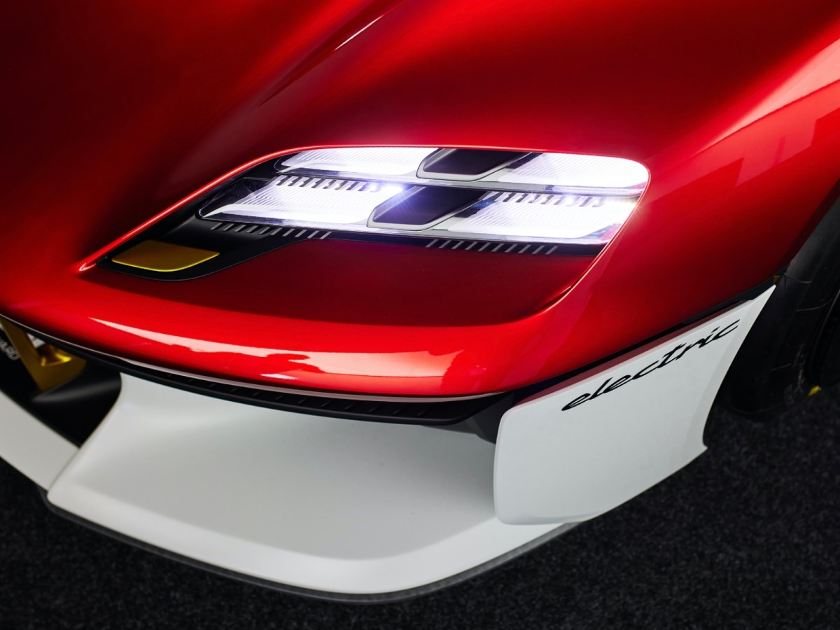 Porsche Mission R Licht Header