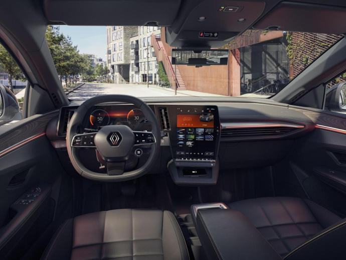 Renault Megane Android Automotive Innen6