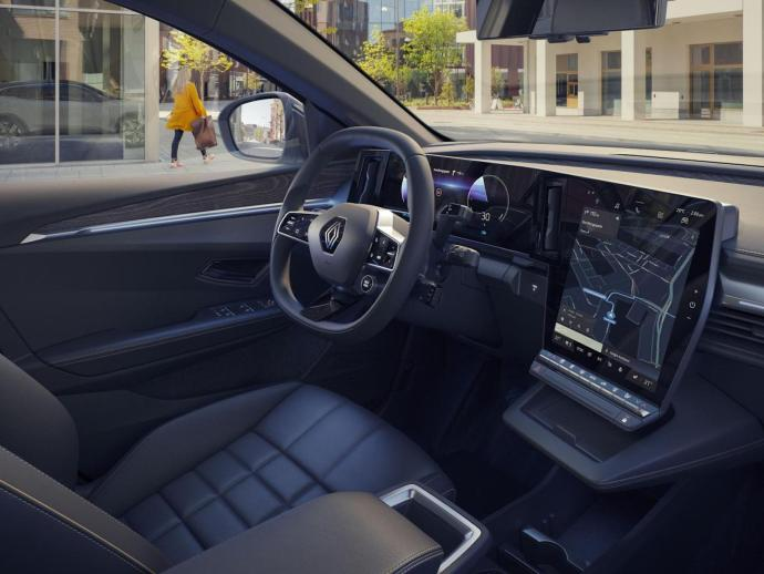 Renault Megane Android Automotive Innen7