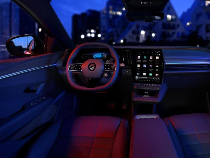 Renault Megane Android Automotive Innen8