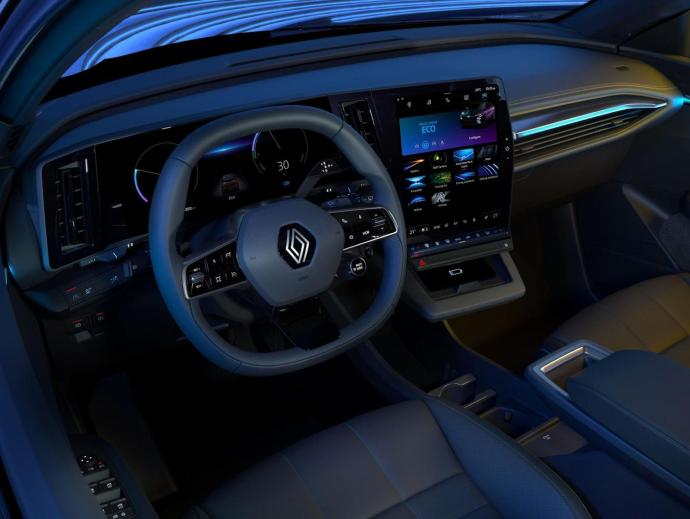 Renault Megane Android Automotive Innen9