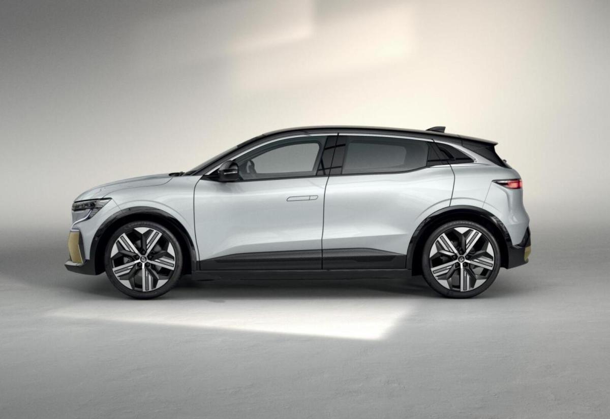 Renault Megane Elektro Seite