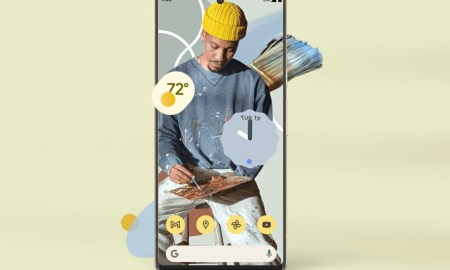 Google Pixel 6 Ad Header