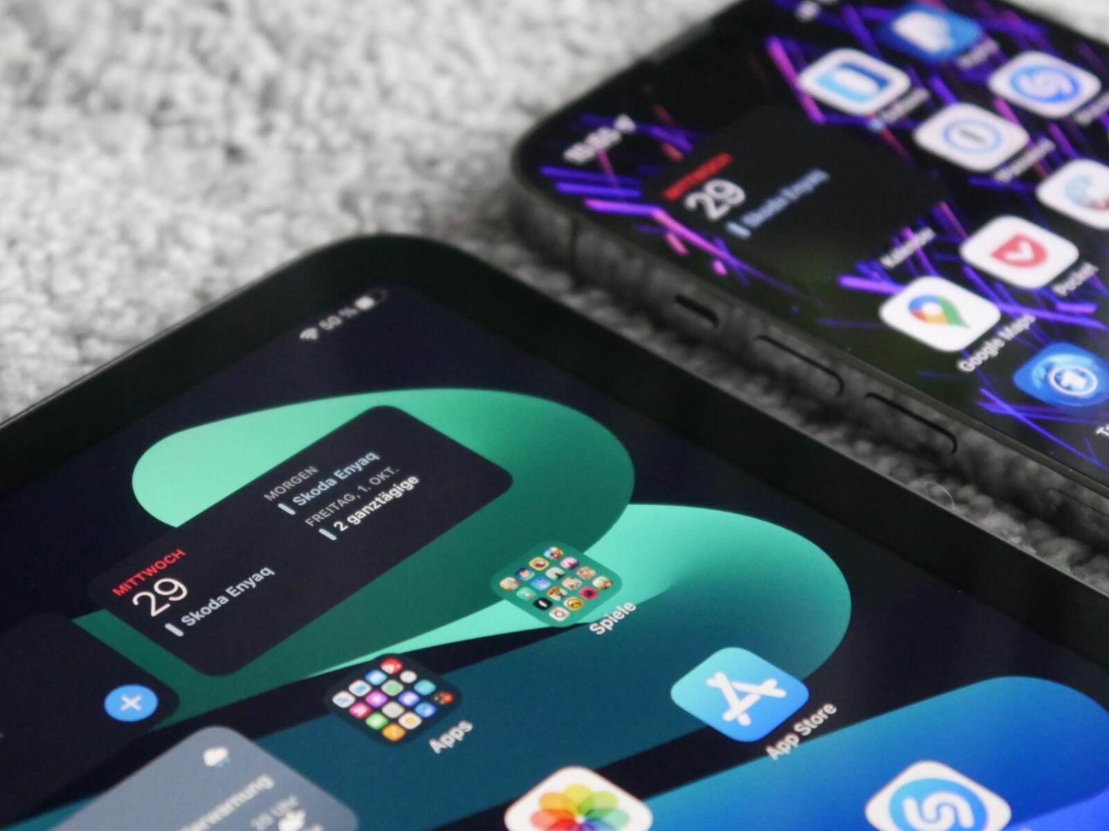 Iphone 13 Ipad Mini Widget Vergleich
