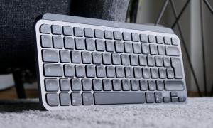 Logitech Mx Keys Mini Header