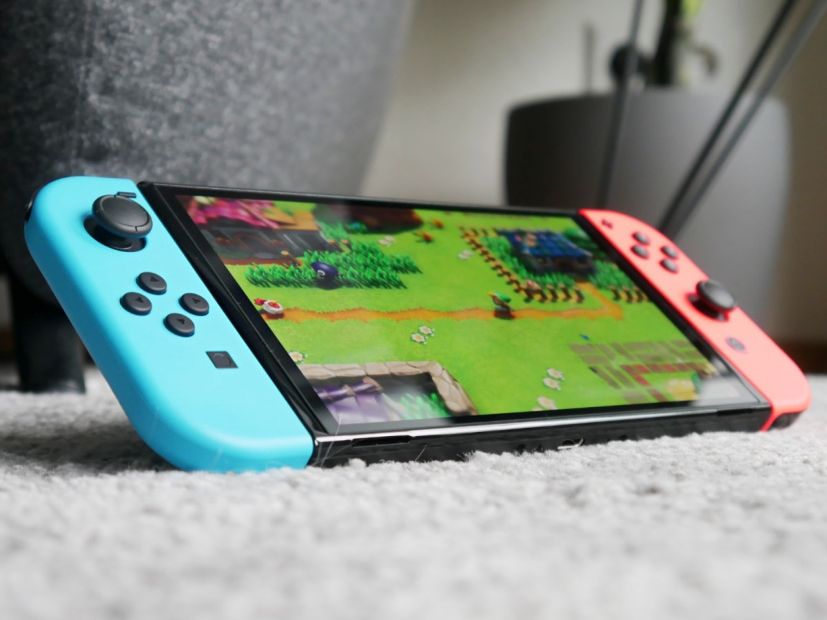 Nintendo Switch Oled Zelda