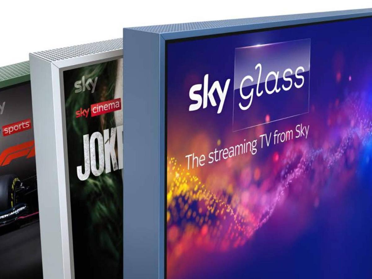 Sky Glass Tv Header