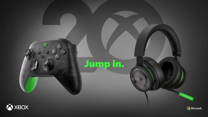 Xbox 20 Jahre Controller