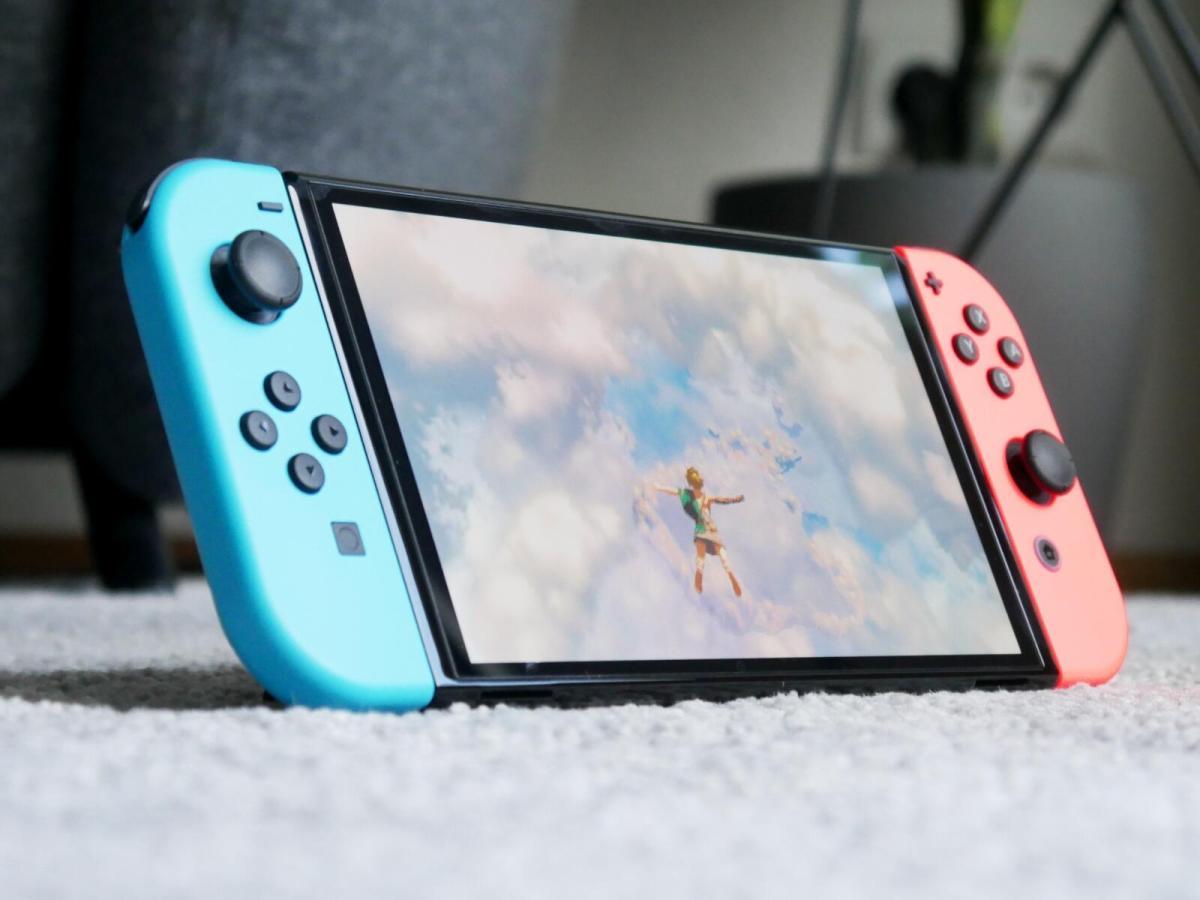 Zelda Nintendo Switch Oled Header