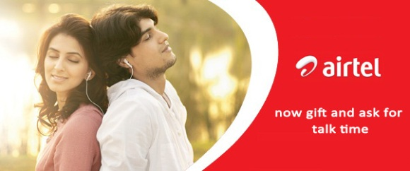 airtel gift and ask talktime