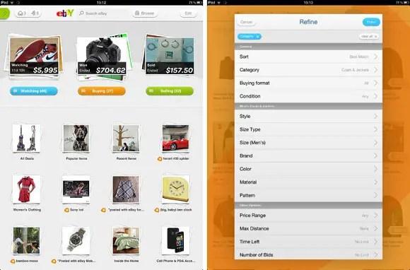 Ebay-iPad-App-India