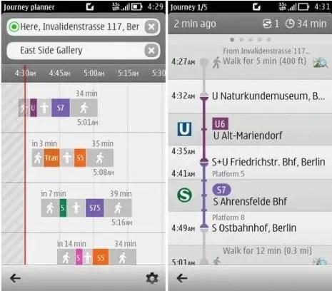 Nokia-Transport-App