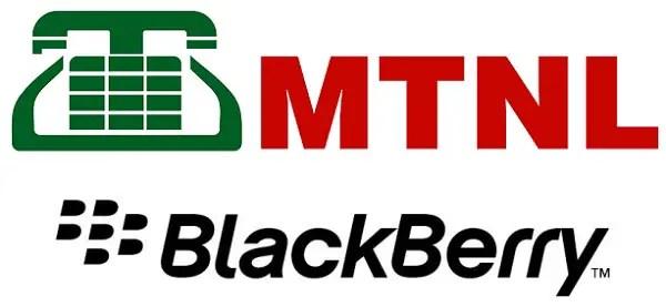 MTNL-BlackBerry-Logo