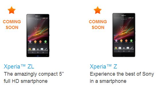Sony-Xperia-Z-Coming-Soon