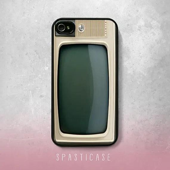 vintage Tv iphone case