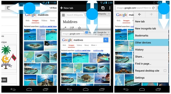 Chrome-for-Android-swipe-gestures
