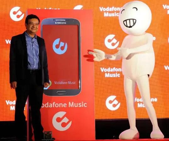 Vodafone-Music-app-launch