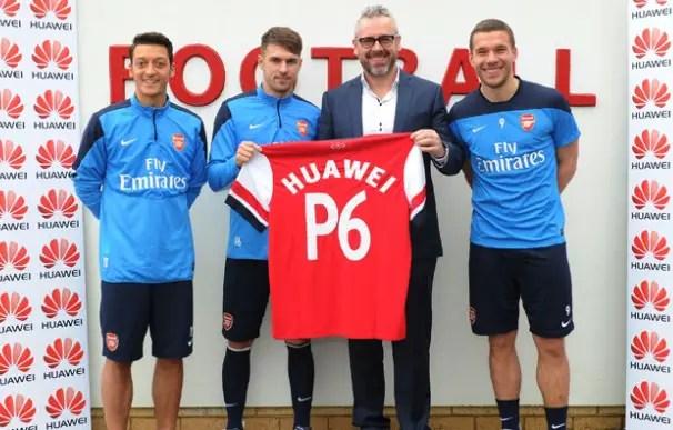 Huawei-Arsenal-partnership