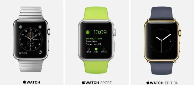 Apple Watch variants