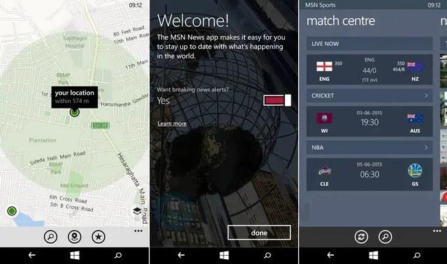 Microsoft Lumia 540 Review UI 5