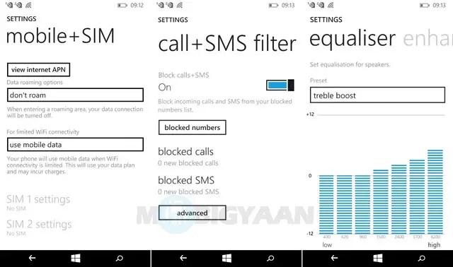 Microsoft Lumia 540 Review UI 6