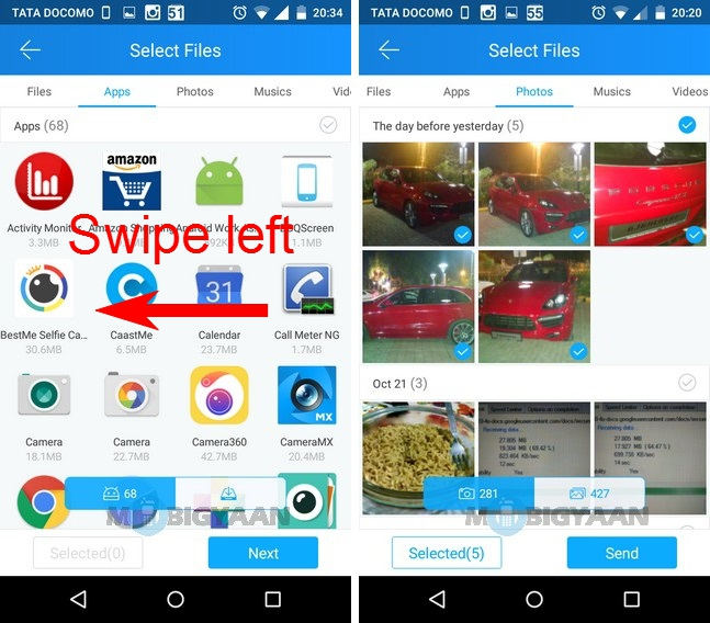 How to transfer photos from Android to iPhone (2)
