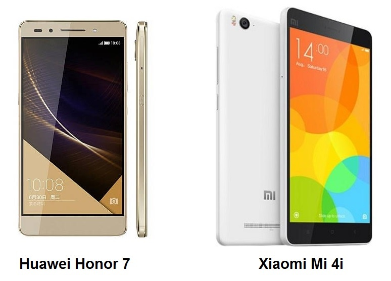 Huawei Honor 7 or Xiaomi Mi 4i Which is better