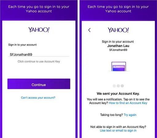 Yahoo-Account-Key-release