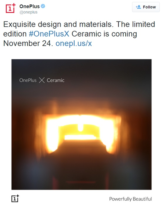 oneplus-x-ceramic-limited-edition-tweet