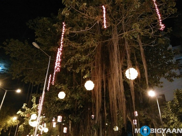 oneplus-x-review-camera-night-shot-lit-up-tree-non-hdr