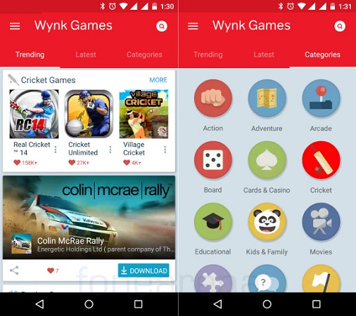 Airtel-Wynk-Games-android