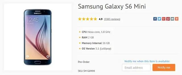Samsung-Galaxy-S6-mini-online-listed