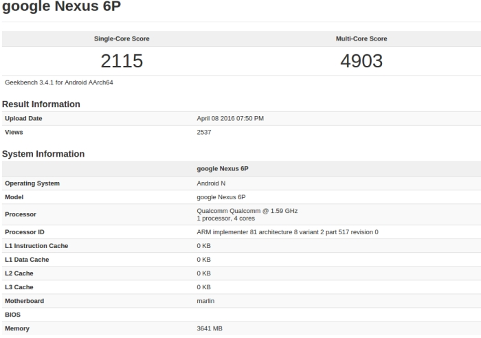 google-nexus-6p-snapdragon-820-geekbench