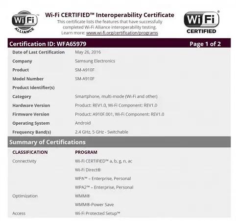 samsung-galaxy-a9-pro-wifi-certification