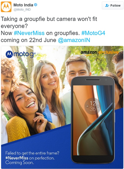 motorola-moto-g4-india-launch-tweet