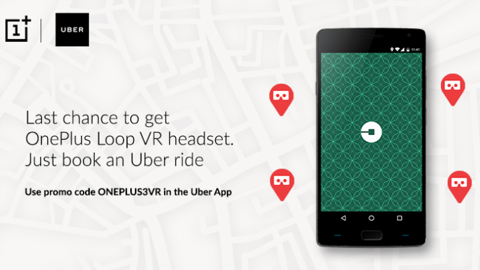 oneplus-loop-vr-uber-tie-up-india-featured