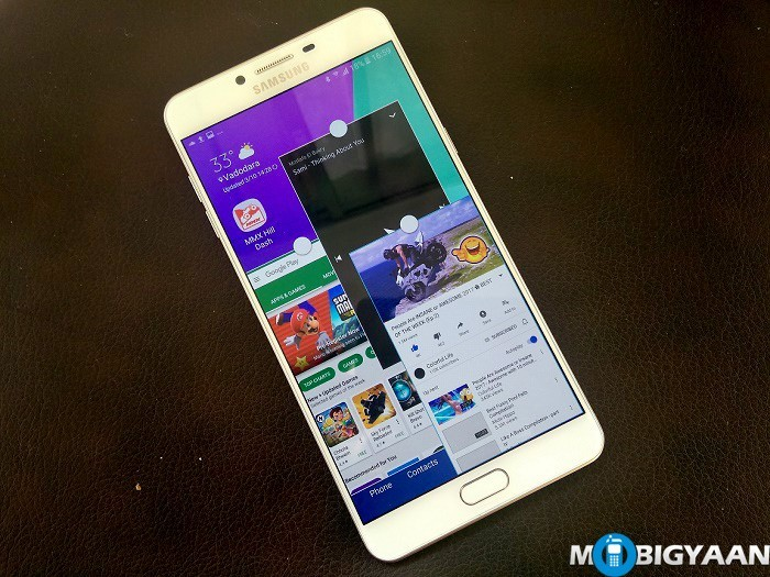 How-to-enable-multiwindow-with-Pop-up-view-gesture-on-Samsung-Galaxy-C9-Pro-Guide
