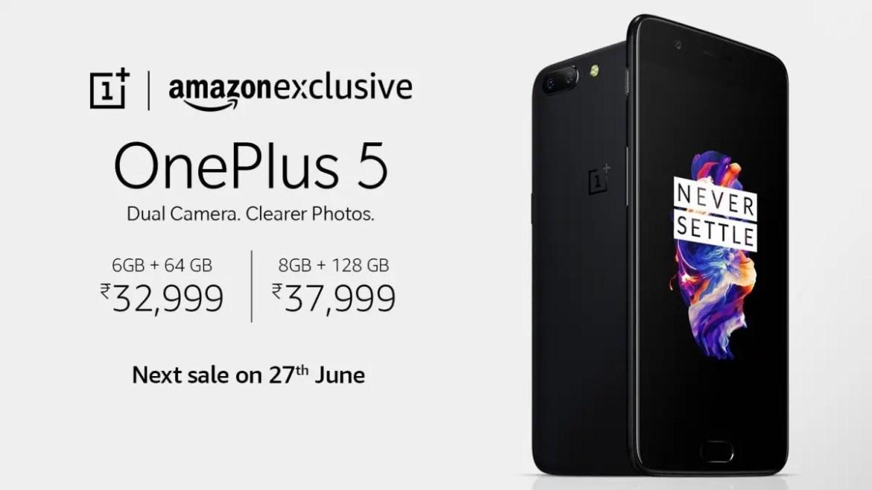 oneplus-5-june-27-amazon-india-sale
