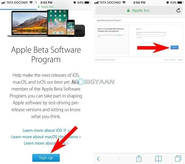 install iOS 11 on iPhone