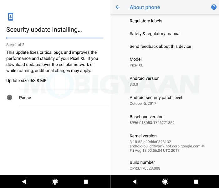 google-android-security-patch-oct-2017-nexus-pixel-2