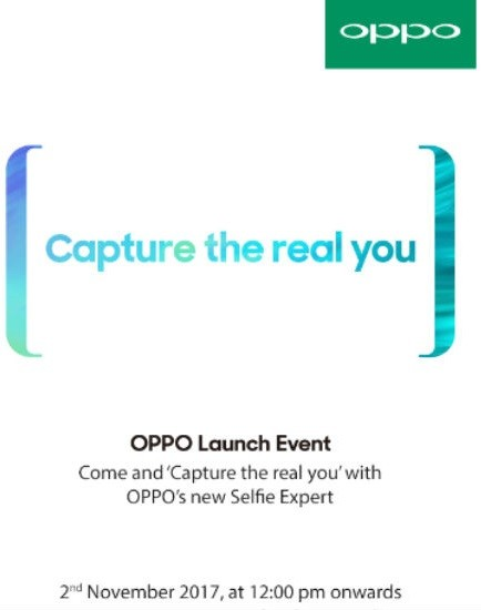 oppo-f5-november-2-india-launch-invite-1