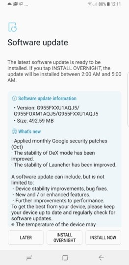 samsung-galaxy-s8-plus-october-2017-security-patch